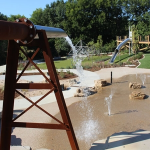 Cool off with a day of play at the Doris I. Schnuck Children's Garden.
