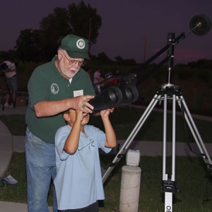 Broemmelsiek Park in Wentzville offers excellent views of the night sky.