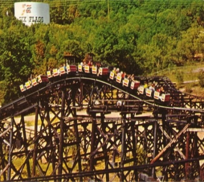 The River King Mine Train was a popular first roller coaster for many parents and kids.
