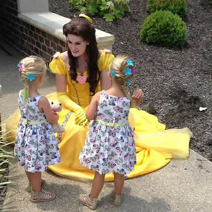 Make your child's party a 'royal' ball with Dream Time Princess Events