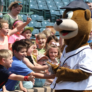 Celebrate your child's birthday with the Gateway Grizzlies