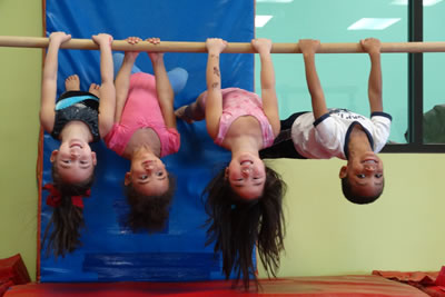 Kids can hang out and have fun during winter break camp at Miss Kelly's Gym