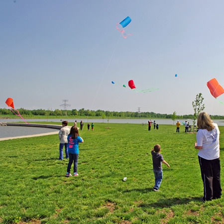 Build a kite or bring your own for the Kite Festival at 370 Lakeside Park in St. Peters.