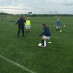 What's it like to be a soccer camp coach?