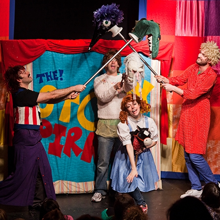Ahoy! The Story Pirates bring children's imaginations to life on stage