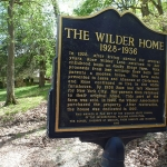 "A cottage on the Rocky Ridge property is where Laura Ingalls Wilder wrote the first four ""Little House"" in the 1930s."