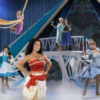 Dare to Dream: Moana skates onto the ice for the first time at Disney On Ice